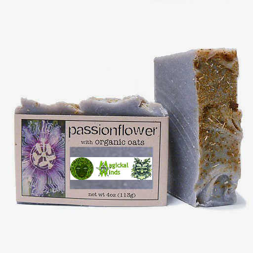 Magickal Winds 4 oz. Passionflower with Organic Oats Soap