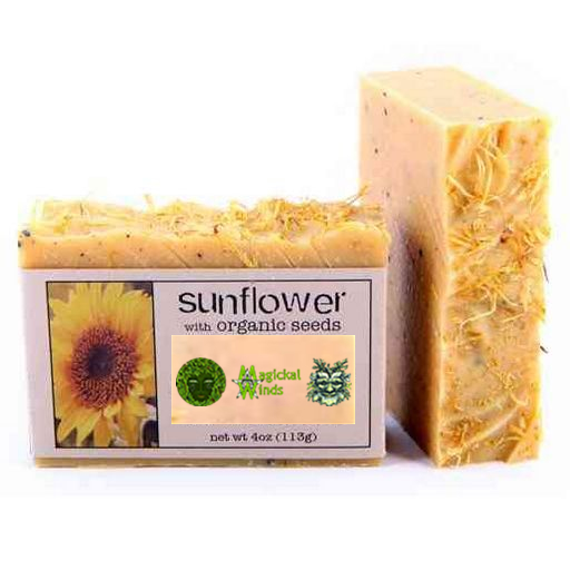 Product Image 4 oz. Sunflower with Organic Seeds Soap